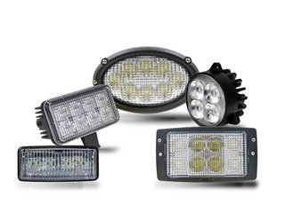 Built-in Tractor LED Work Lights