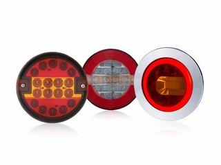 Round Rear Lights