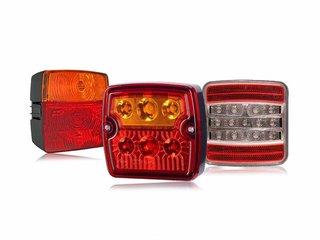 Square Rear Lights