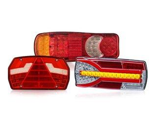 Rectangle Rear Lights