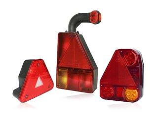 Triangle Rear Lights