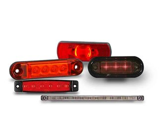 LED Rear Marking Red