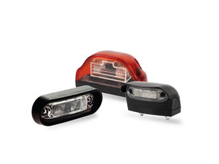Dasteri License plate light
