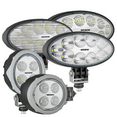 Ovale LED werklampen