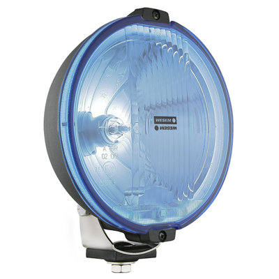 Wesem HOS2 Halogen Driving Light Blue 12V (LED Ring)