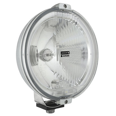Wesem Halogen HOS2 Chrome Driving Light 12V (LED Ring)