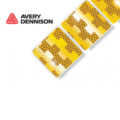 Avery Reflective Tape Yellow