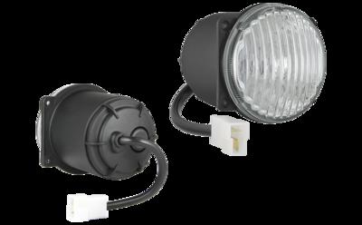 HM4 Halogen Fog Light + AMP Faston Connector + Cable