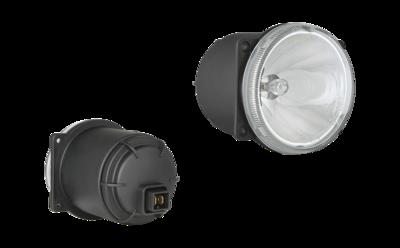 HM4 Halogen Driving Light + AMP Faston Connector