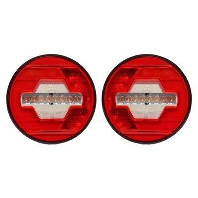 LED Rear Lamp Ø140mm + Dynamic side-indicator