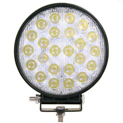 72W LED Work Light Round