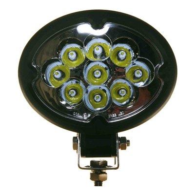 27W LED Oval Work Light Spot