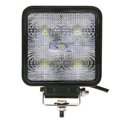 15W LED Work Light Square