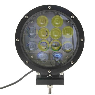 60W LED Driving Light Black