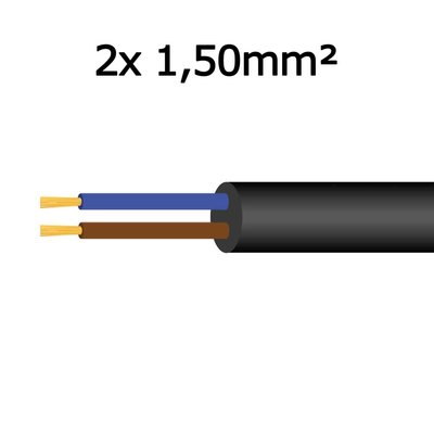 Cable 2x 1,50mm²