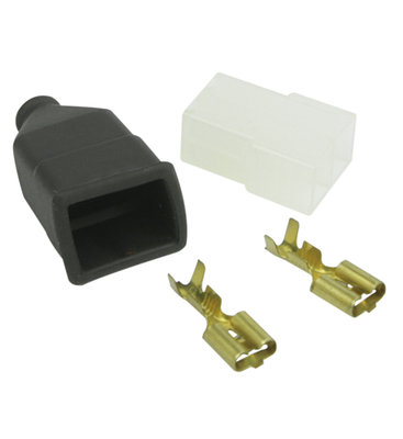 AMP-Faston 2-pins Connector