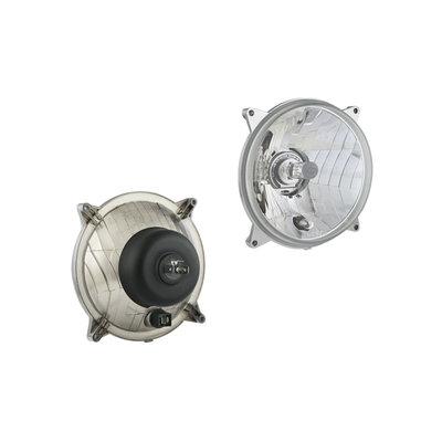 Headlamp insert diamter Ø139, H4, hole pattern 110x110