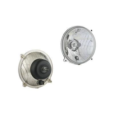 Headlamp insert diamter Ø139, H4, hole pattern 106x106