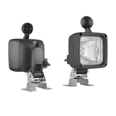 Halogen Work light LKR5-FF + AMP-Faston