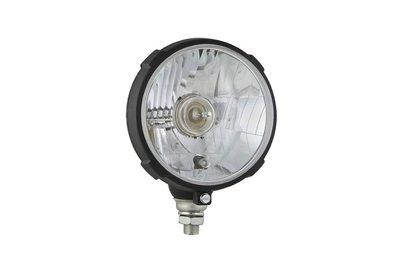 Headlamp Ø161x115, H4, plastic
