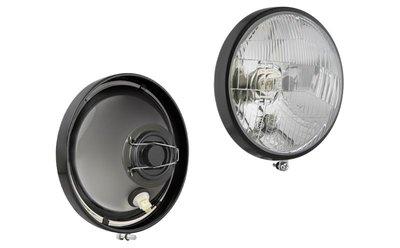Headlamp, H4, Ø150 142x86 R12,5