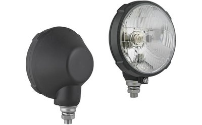Headlamp, H4, Ø161x112