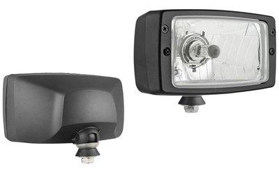 Headlamp, H4, 184x102x108, 24V