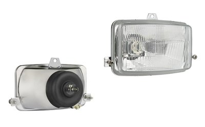 Headlamp, H4, 156x93x86