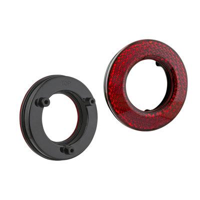 Ring Reflex Reflector Red