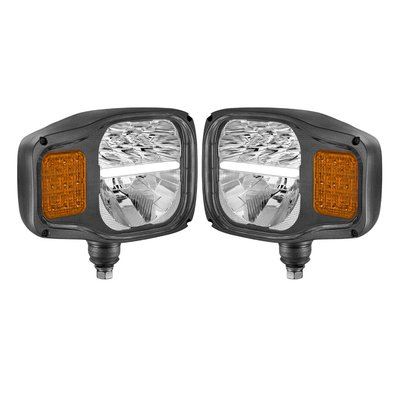 LED Headlamp With Direction indicator Left + Right
