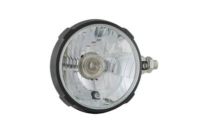 Headlamp Ø161x115, H4, plastic, right