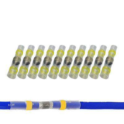 Heatshrink Solder Connectors Waterproof Yellow (4-6mm)