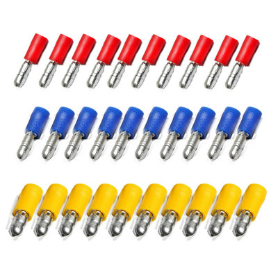 Set Fully Insulated Receptacle Disconnectors (30 pcs)
