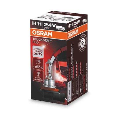 Osram H11 Halogen Bulb 24V 70W PGJ19-2 Truckstar Pro