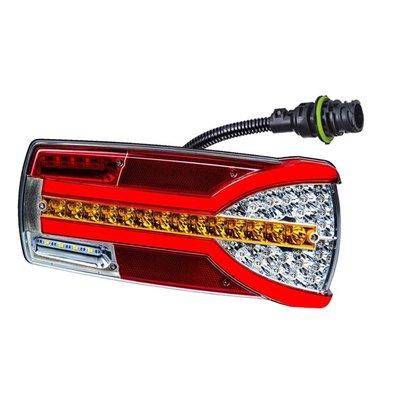 Horpol LED Rear Lamp Right Carmen LZD 2303 + 7-pin Plug