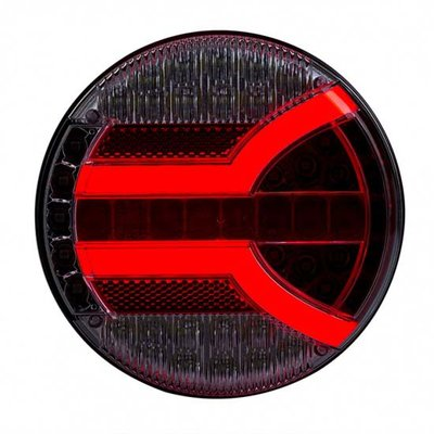 Horpol LED Rear Lamp Round NAVIA 140mm LZD 2341