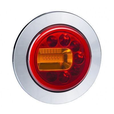 Horpol LED Rear Lamp Left Chrome LUNA LZD 2446