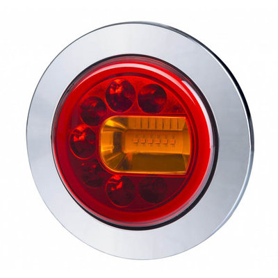 Horpol LED Rear Lamp Right Chrome LUNA LZD 2449
