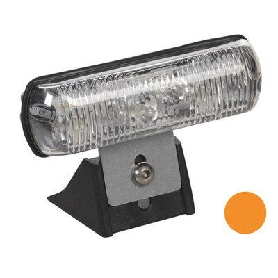 Flashing Led Lamp Standing Orange