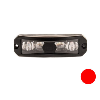 Led Flashing Lamp Wide Angle Effect Red