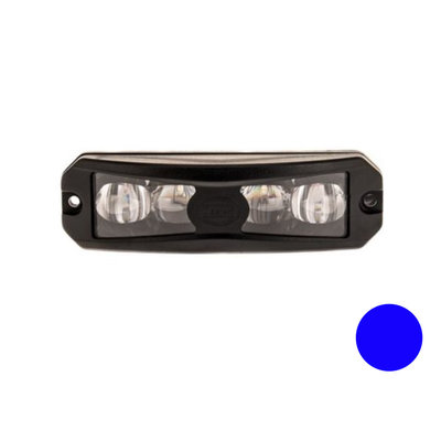 Led Flashing Lamp Wide Angle Effect Blue