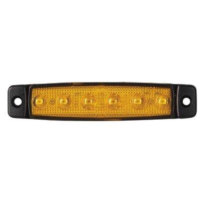 Led Side Marker Lamp Short Orange 24V