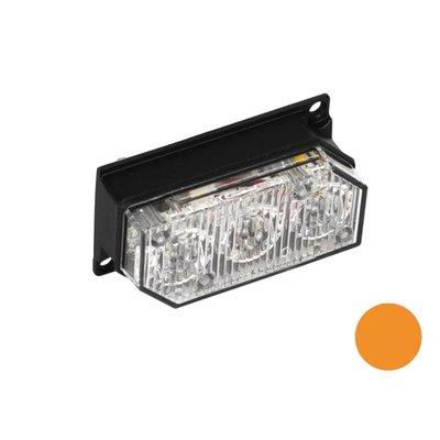 Flashing Led Lamp with 3 Leds Orange