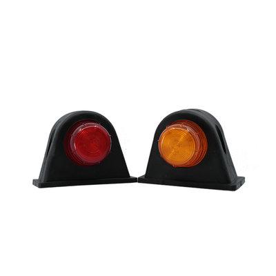 LED 2-Function Marker Lamp 10-30V Orange + Red (Set)