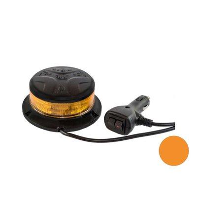 Led Beacon With Magnetic Base Orange