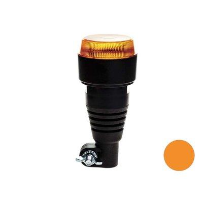 LED Flash Beacon with Flexible Base Orange