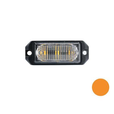 LED flasher 3-fold Ultra Flat Orange