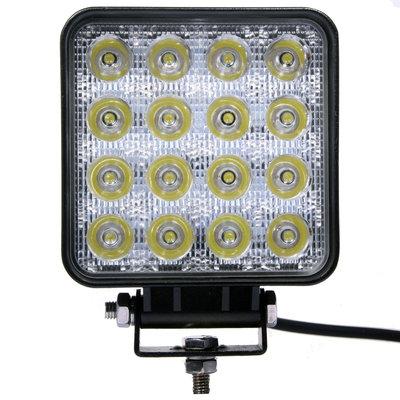 48W LED Work Light Square Budget