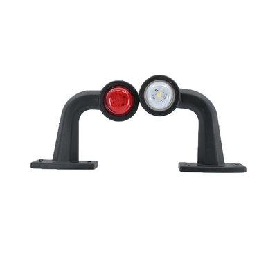 LED 2-Function Marker Lamp 10-30V White + Red (Set)