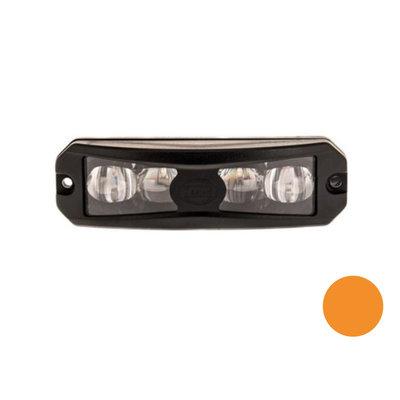 Led Flashing Lamp Wide Angle Effect Orange